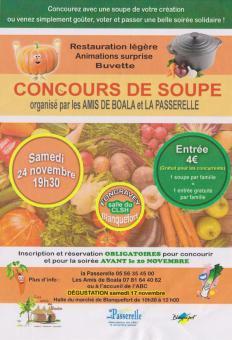 concours de soupe; 4ème édition